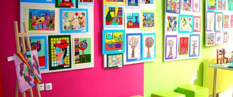 'Εκθεση Ζωγραφικής στο Εργαστήρι Παιδικής Τέχνης